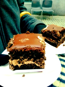 mmmmm... cake.