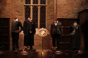 Gryffindor Costumes.  Check out Neville's sweater!